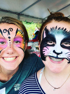 Big kids love face painting too!