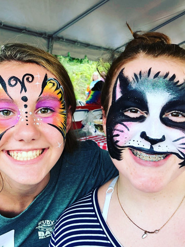Face painting, party service Knox, Sevier, Blount County