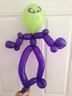 Balloon alien Sevierville Balloon Twisting