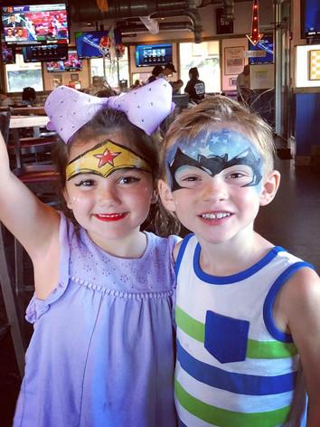 Superhero birthday parties, kid's birthday party Knoxville TN, Sevier, Blount