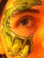 Dragon face painting Maryville TN