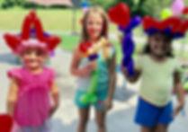 Knoxville balloon twister fo kid's party, balloon animals