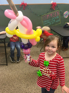 Party Favor Candy Cup, Standard size unicorn balloon birthday party in Knoxville