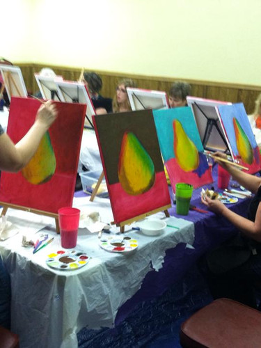 Paint and sip party in Knoxville TN