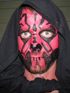 Halloween face paint, Sevier County