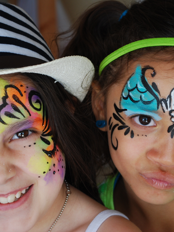 Knoxville face painting kid's party