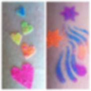 Knoxville TN glitter tattoo party entertainment