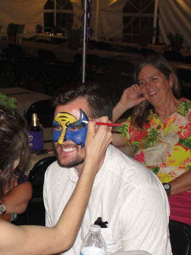 Family reunion face painting event services, reunion entertainment