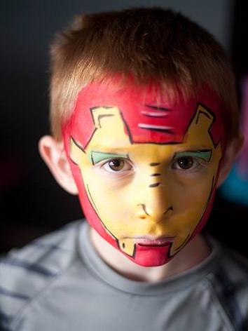 Superhero, boy's birthday party Eastern TN, kid's birthday party