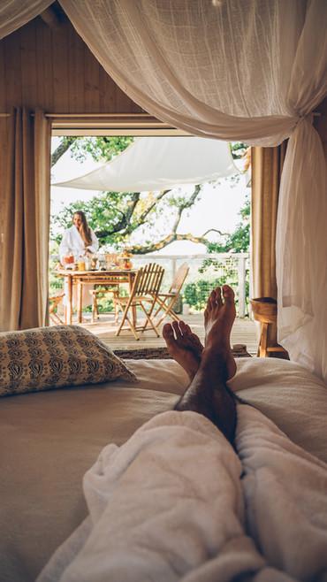 c'est le moment de deconnecter, lire, contempler la nature