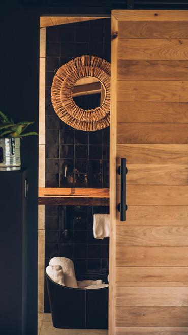 une cabane élégante et design