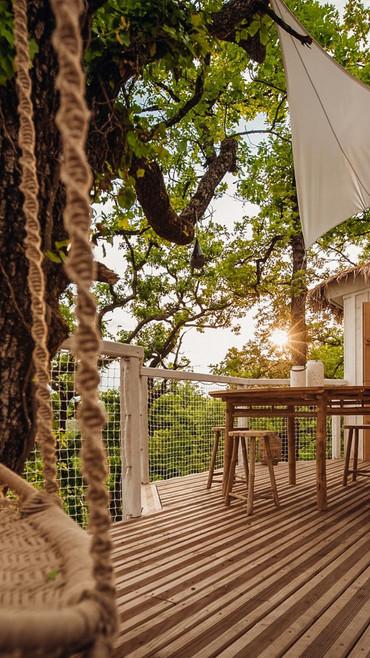 la terrasse, la nature et vous