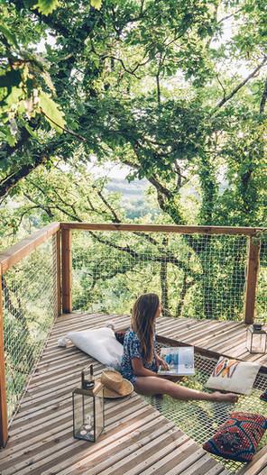 cabane dans les arbres occitanie