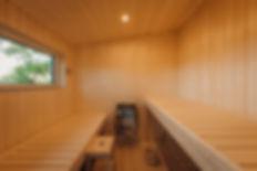 Cabane dans les arbres sauna