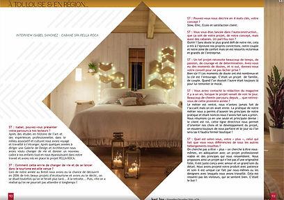 article sweetime sur Pella Roca Cabane & Spa