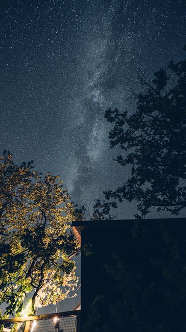 toujours de beaux ciels étoilés à PELLA ROCA