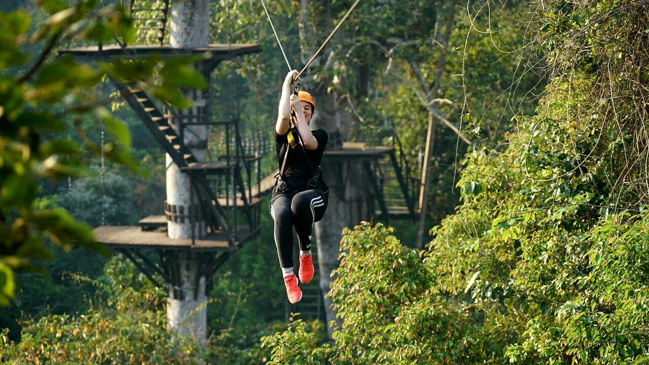 Angkor Zip-Line