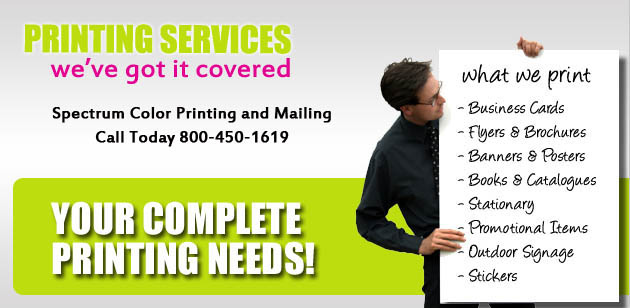 Las Vegas Printer | Spectrum Color Printing | 702-834-3000 Print Shop