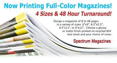 Full Color Magazines