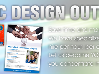Save Time by Outsourcing Everything from Graphic Design to Mailing Services