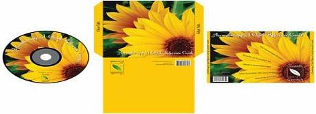 CD Printed Sample