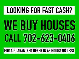 We Buy Houses Las Vegas