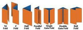 Brochure Folding Options