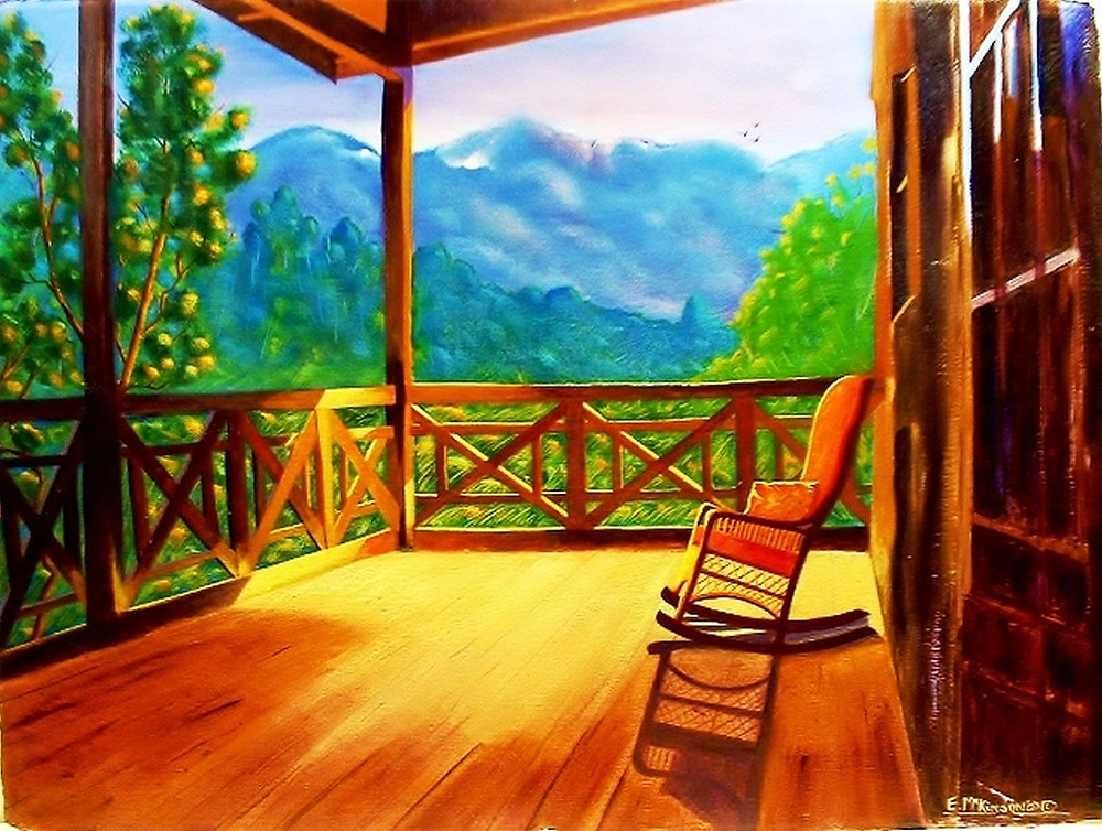 Day Off (Strawberry Hill Jamaica), Errol McKinson, Acrylic   22x30