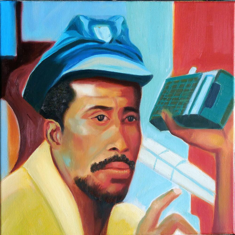 Man With Transistor Radio II