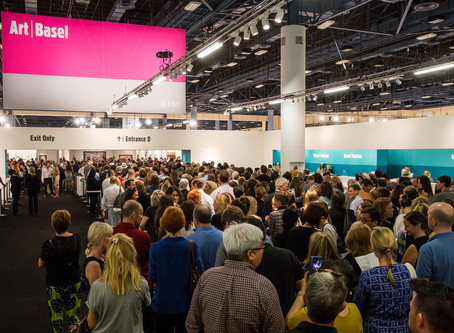 Miami's Art Fairs Can Account for 50 Percent of a Gallery's Annual Sales.