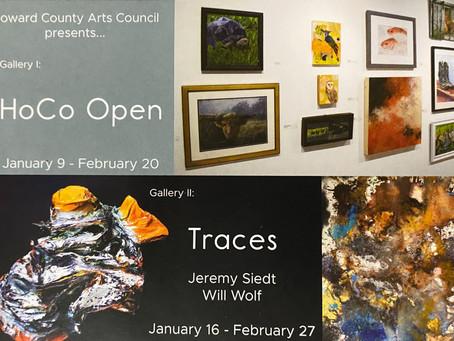 HoCo Open Exhibit : January 9 – February 20, 2021