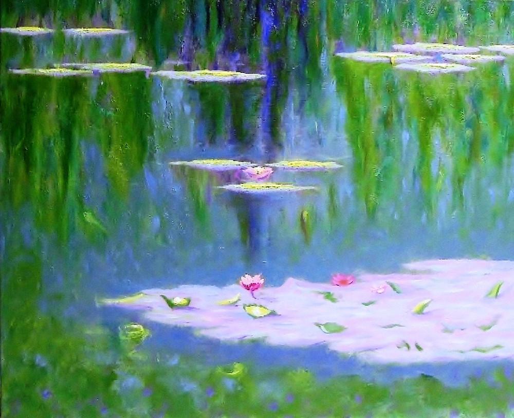 Water Lilies XIII, Errol McKinson  Oil on canvas 24x20
