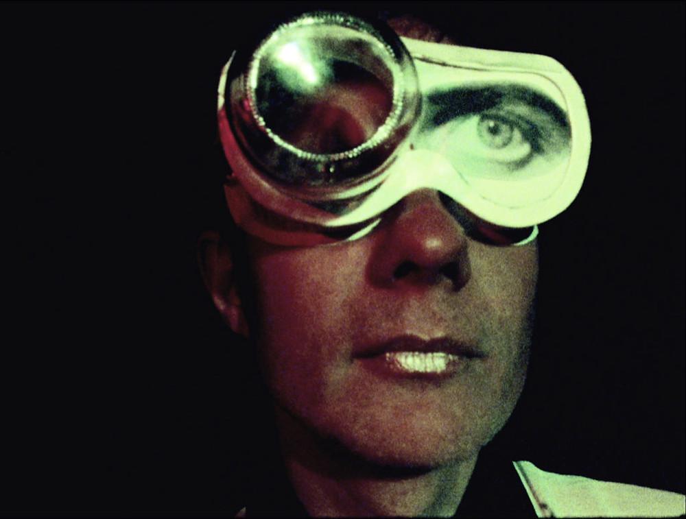 Felix Kubin, Eye Closed, Foto Marie Losier,