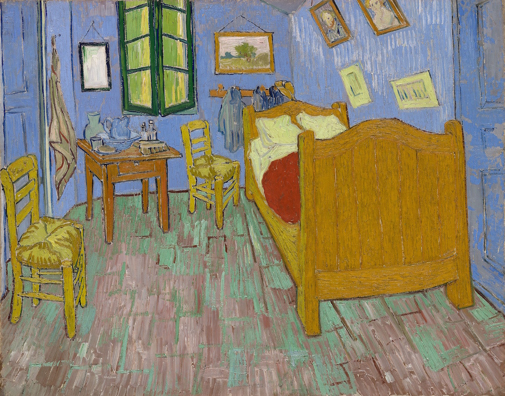 Vincent van Gogh, The Bedroom (1889)