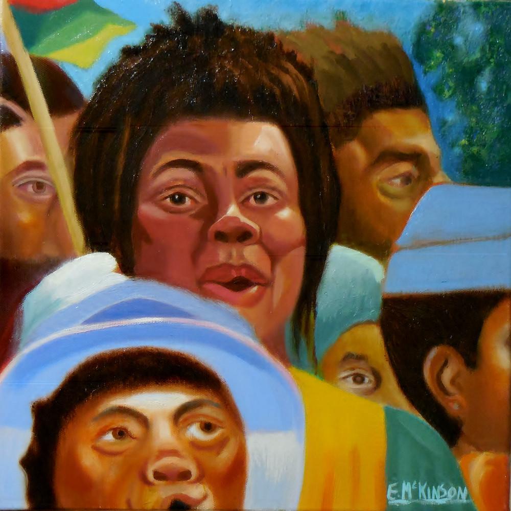 McKinson_Revivalism III_ Oil on Canvas 14x14