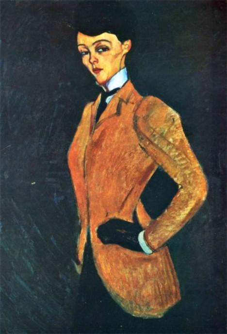 """Amazone"" by Modigliani"