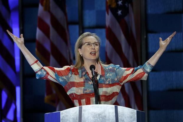 Meryl Streep 2016 DNC Convention