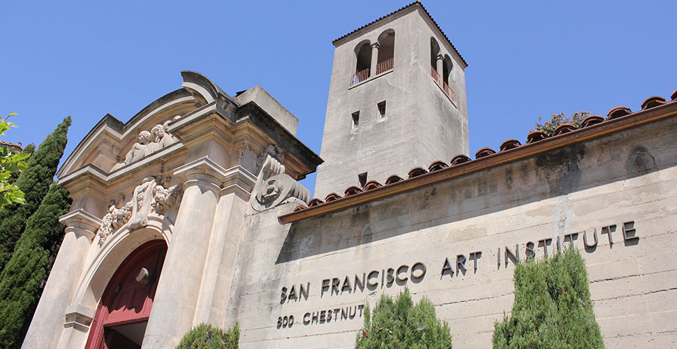 The San Francisco Art Institute. Courtesy of Wikimedia Commons.