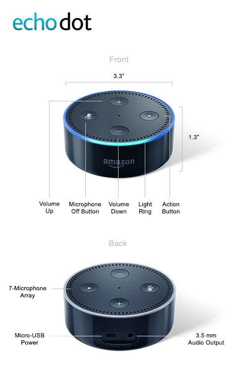 Technical Specification Echo Dot