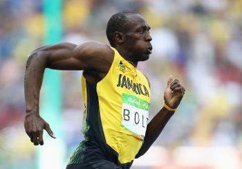 Usain Bolt Running 200M in Rio 2016 Olympic