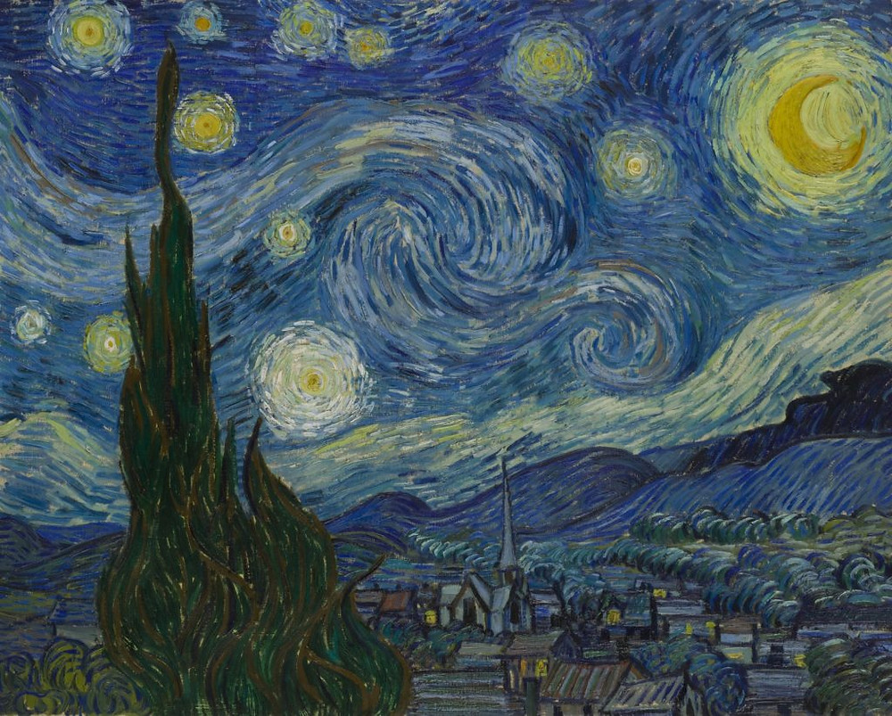 Vincent van Gogh, The Starry Night (1889).