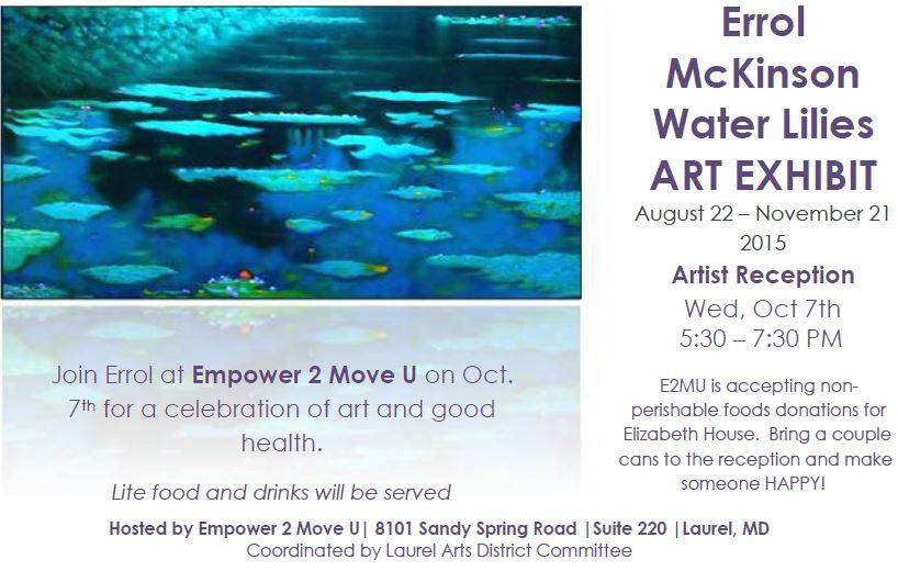 Errol McKinson-Water Lilies XVII