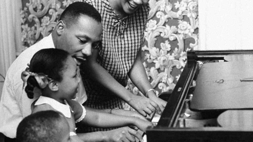 Martin Luther King Jr. and Family