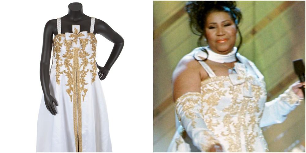 Aretha Franklin Gown