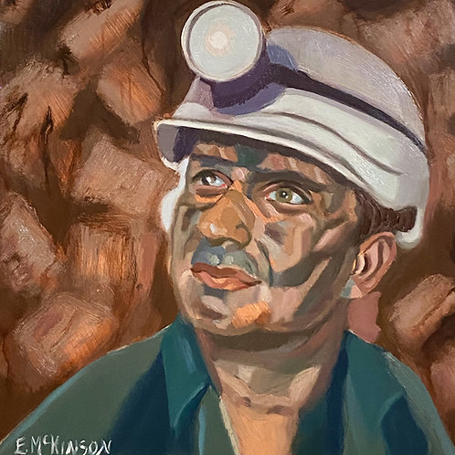 Coal Miner - Jimmy the Site Manager.