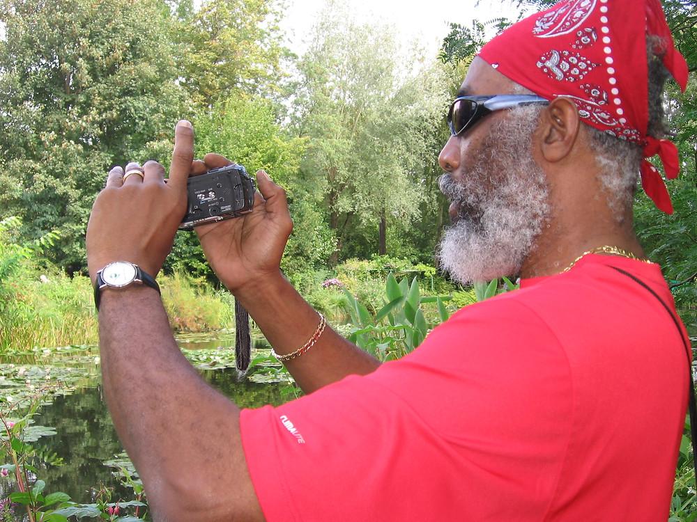 Errol McKinson at Giverny