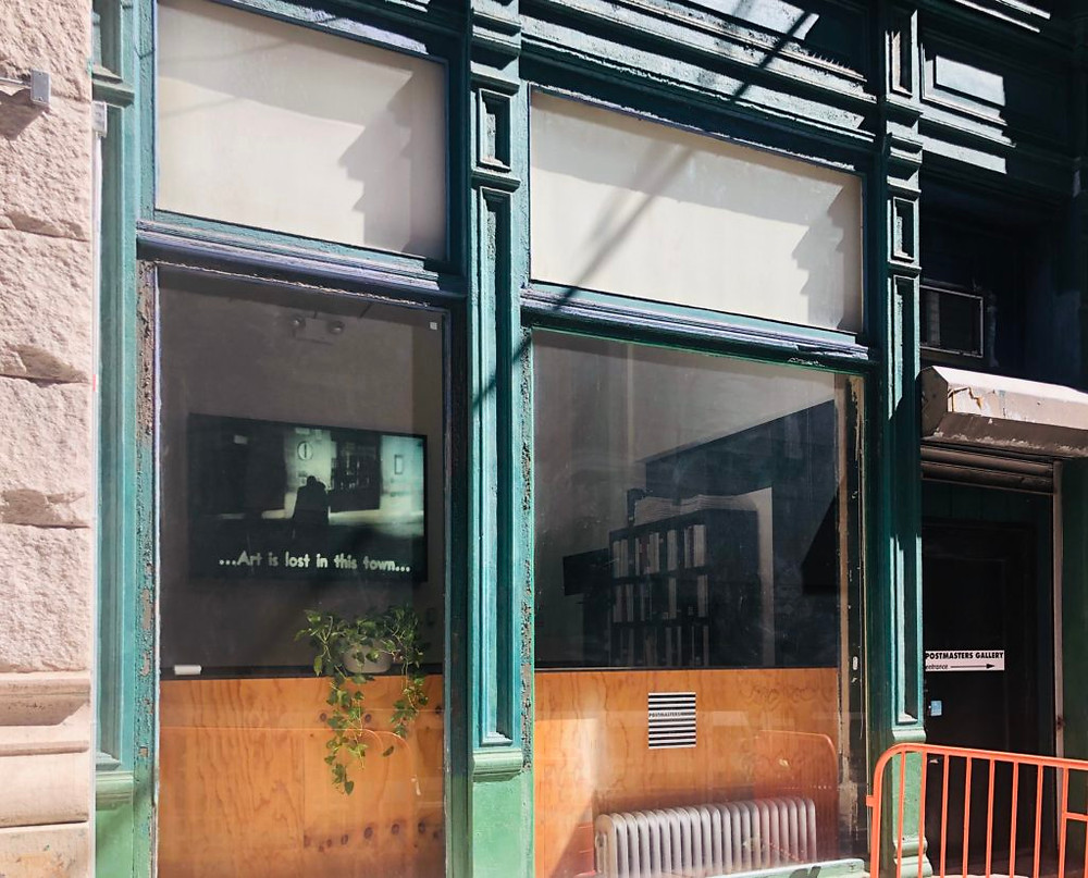 Postmasters Gallery in Tribeca. Photo courtesy of Magda Sawon.