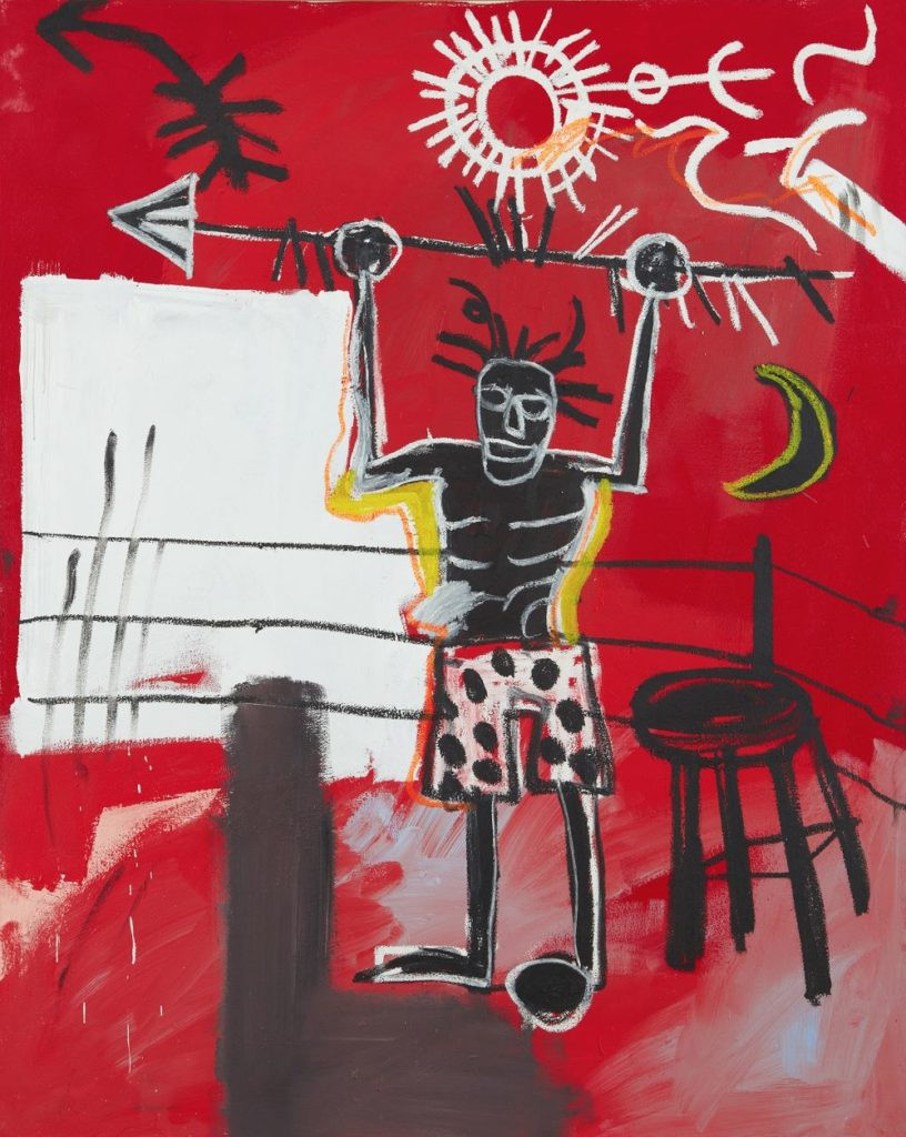 Jean-Michel Basquiat, The Ring (1981).