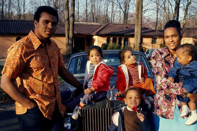 Muhammad Ali and family