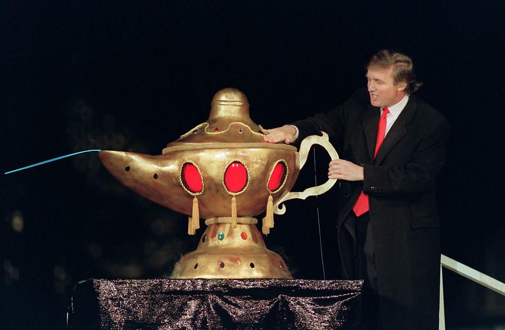 Trump  Taj Mahal casino in Atlantic City,